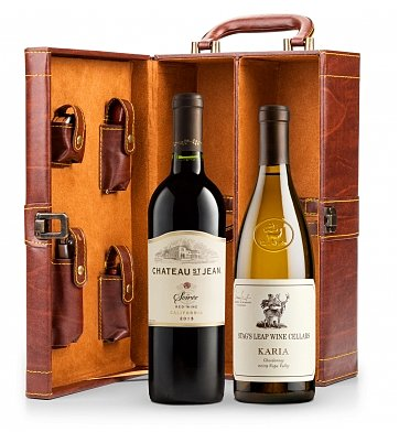 Wine Gifts: Coastal Cove Wine Case with Tools