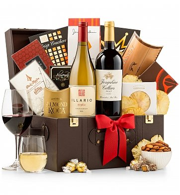 Wine Baskets: Raise a Toast Wine Basket