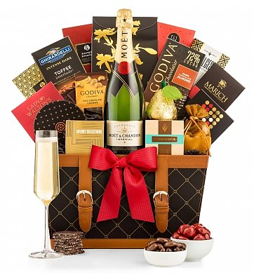Champagne Gift Baskets: For the Love of Champagne