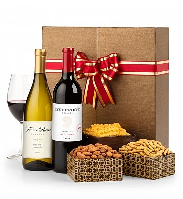 Wine Gift Crates: Wine in the Garden Duet