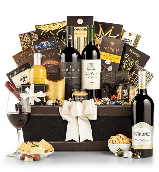 Wine Baskets: The California Cabernet Collection