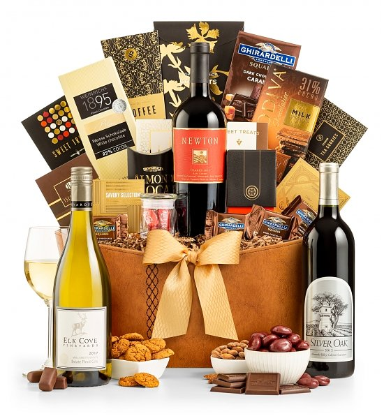Wine Baskets: The Gold Standard