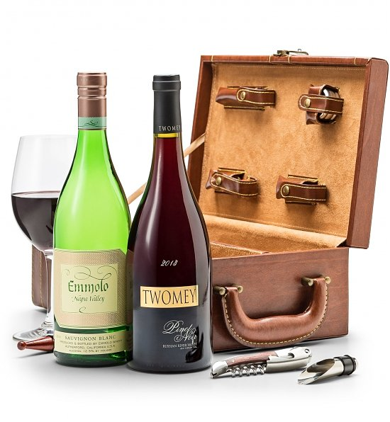 Wine Gifts: Pacific Valley Wine Duet with Fine Tools