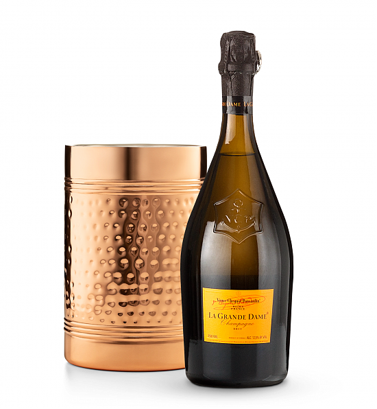 Wine Accessories & Decanters: Veuve Clicquot La Grande Dame Champagne 2008 with Double Walled Wine Chiller