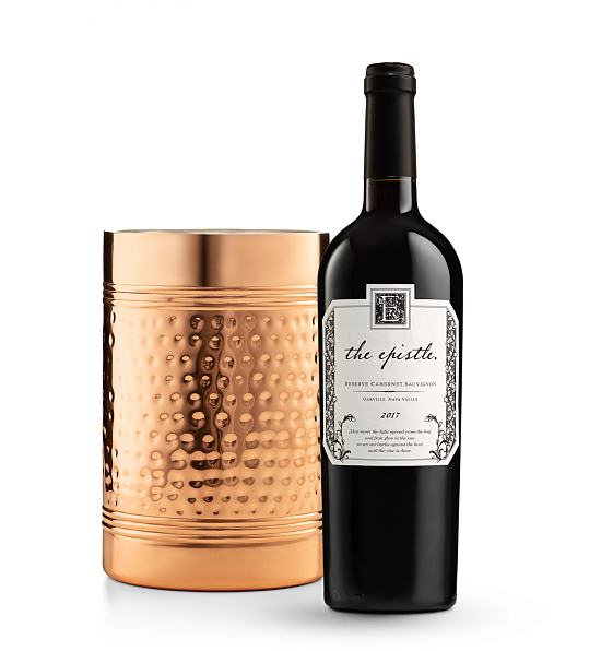 Wine Accessories & Decanters: The Epistle Reserve Cabernet Sauvignon with Double Walled Wine Chiller