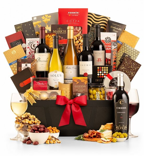 Wine Baskets: The Red Carpet