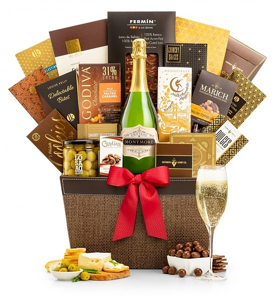 Champagne Baskets: Taste of Success