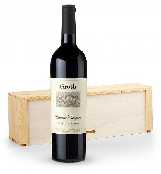 Wine Gift Crates: Groth Vineyards Cabernet Sauvignon Wine Crate