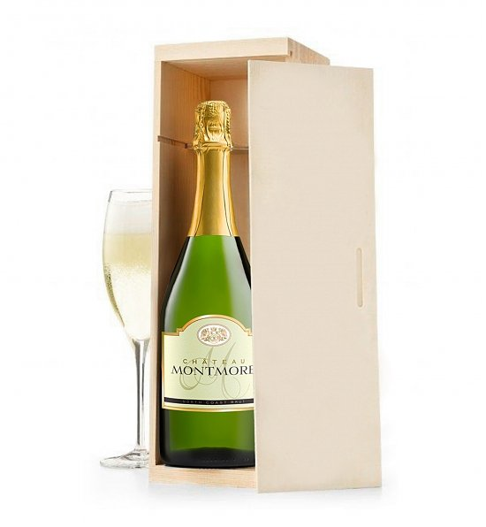 Wine Gift Crates: Chateau Montmore Northcoast Brut Champagne Crate