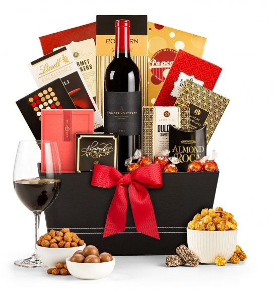 Wine Baskets: Vineyard Tastings Wine Basket