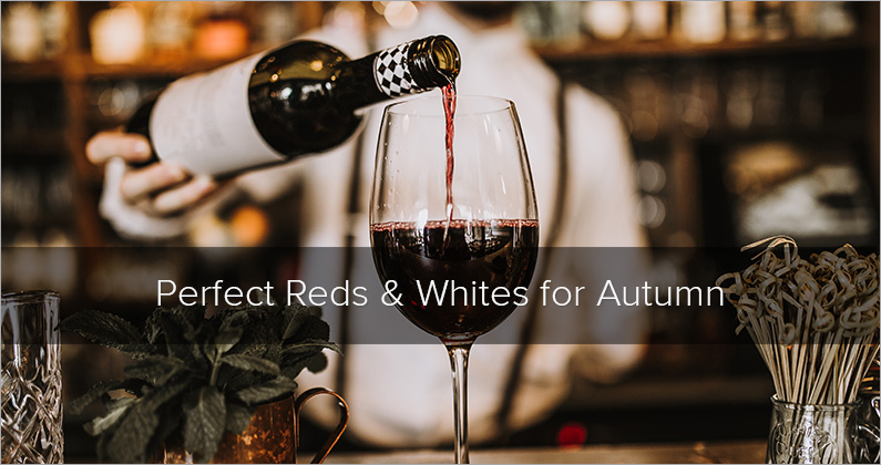 Perfectly Autumnal Reds and Whites