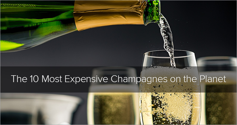 The Ten Most Expensive Champagnes on the Planet