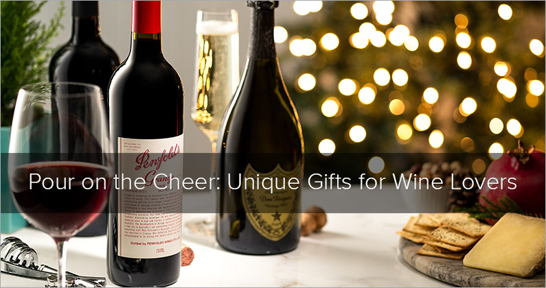 Pour On The Cheer: Unique Gifts for Wine Lovers
